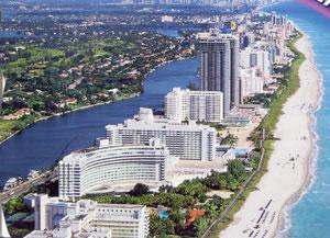 マイアミビーチ市とは? マイアミビーチ市とは? アメリカ最南端に位置するフロリダ州マイアミビーチ